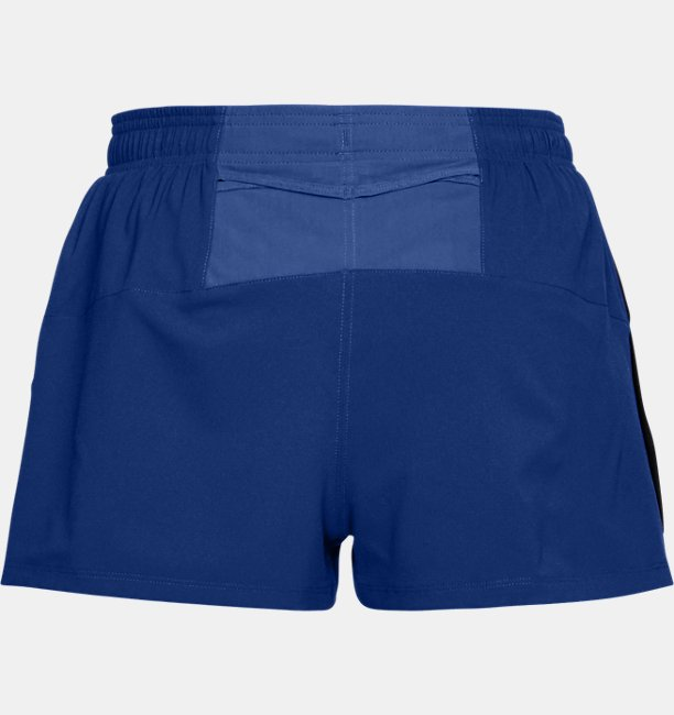 Mens UA Launch Split Shorts