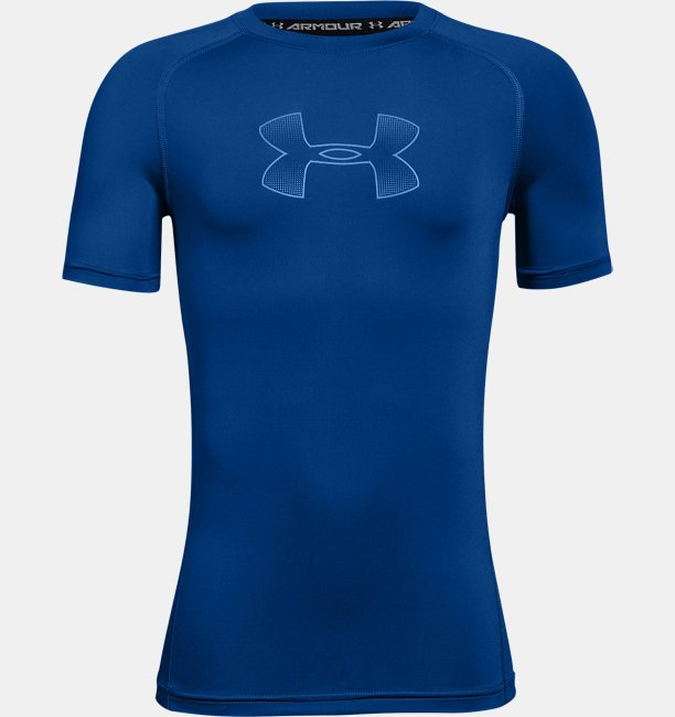 6c159de251 Boys' HeatGear® Armour Short Sleeve Fitted Shirt