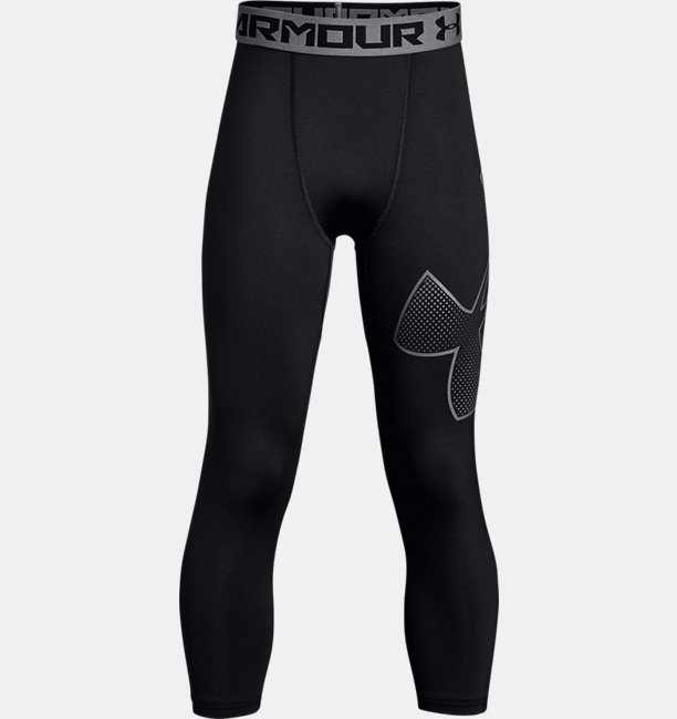 Boys HeatGear® Armour ¾ Logo Leggings