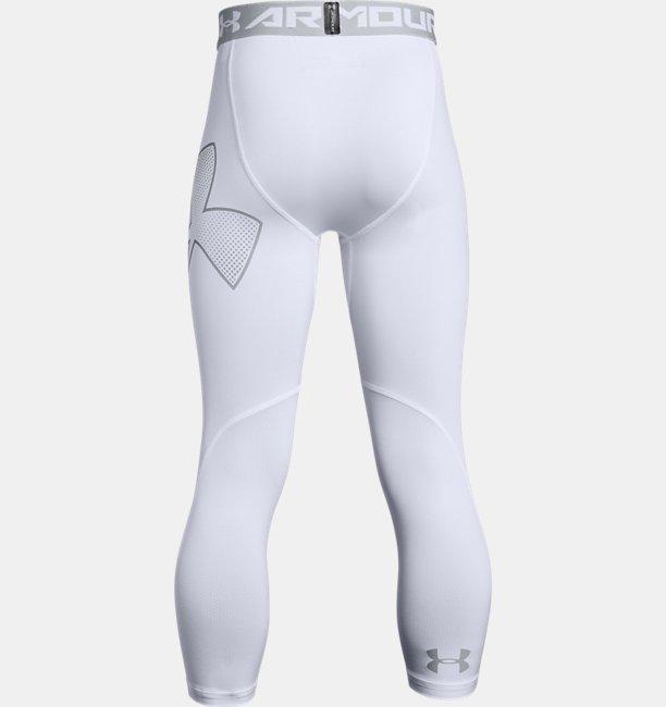 Boys HeatGear® Armour ¾ Logo Leggings