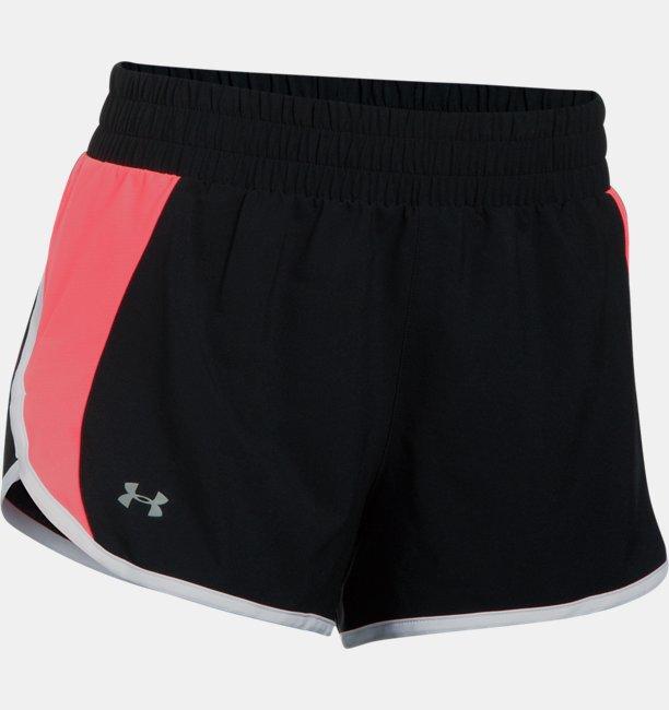 Womens UA Launch Tulip Shorts