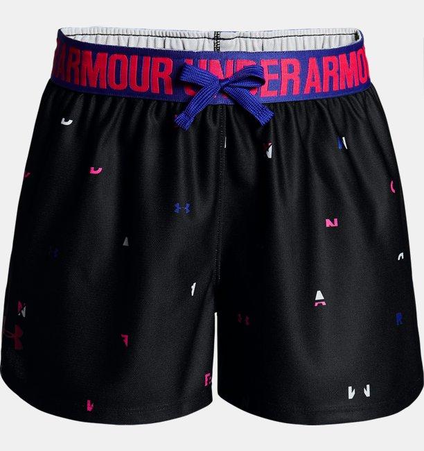 Shorts UA Play Up Printed - Infantil Feminino