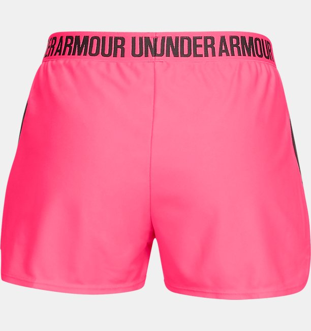 Damen Shorts UA Play Up 2.0