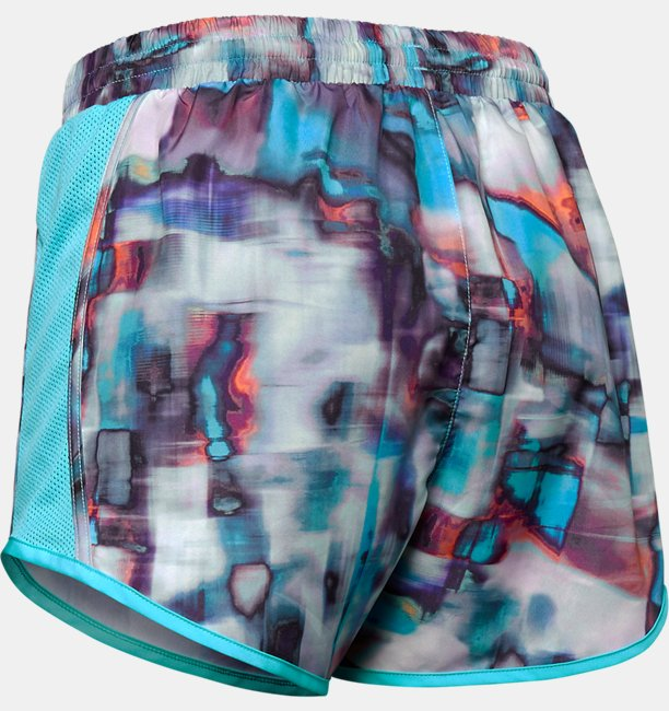 Short UA Printed Fly-By - Feminino
