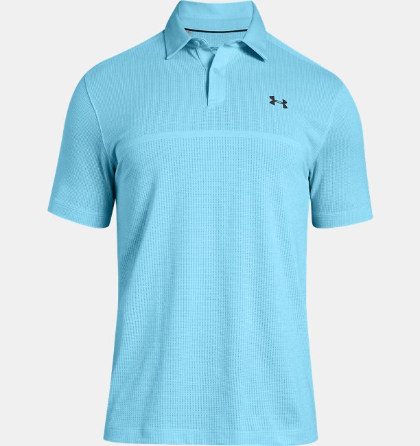 Mens UA Threadborne™ Tour Jacquard Polo