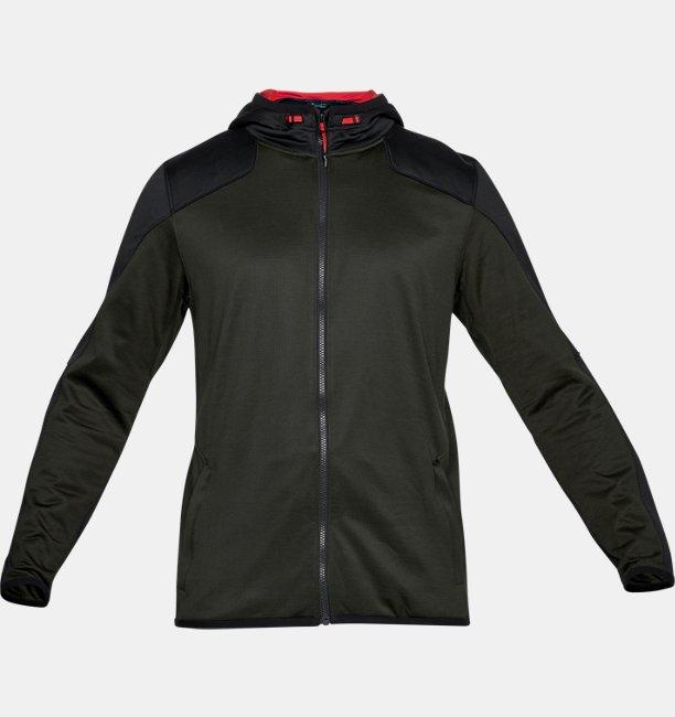 540df97a Men's ColdGear® Reactor Fleece Full Zip Hoodie