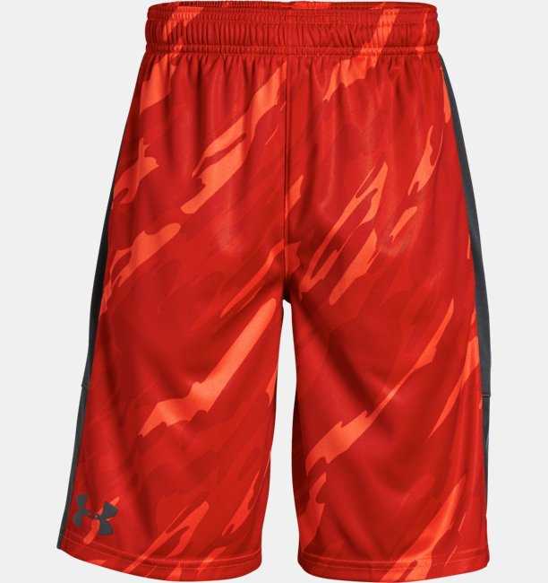 Boys UA Stunt Printed Shorts