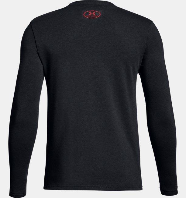 Boys UA Halftone Branded Long Sleeve