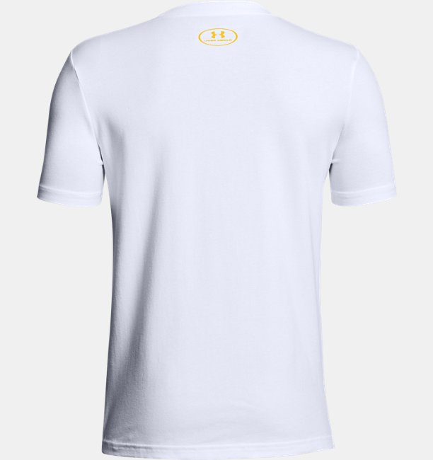 Camiseta UA Run Point infantil masculina