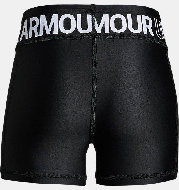 Shorts HeatGear® Armour infantis femininos