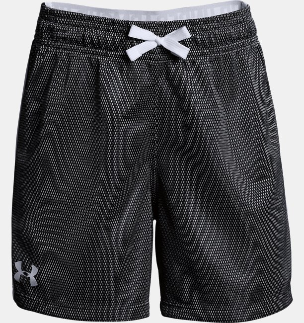 Girls' UA Center Spot Shorts