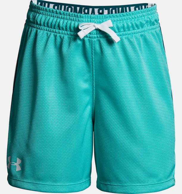 Girls UA Center Spot Shorts