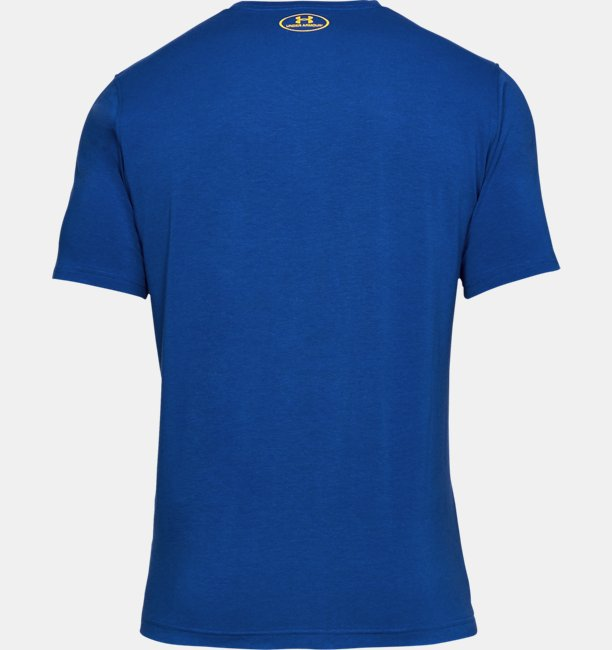 Camiseta UA Basketball Wordmark Masculina