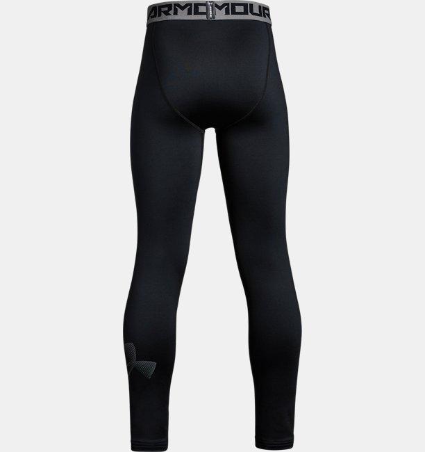 Boys ColdGear® Armour Printed Leggings
