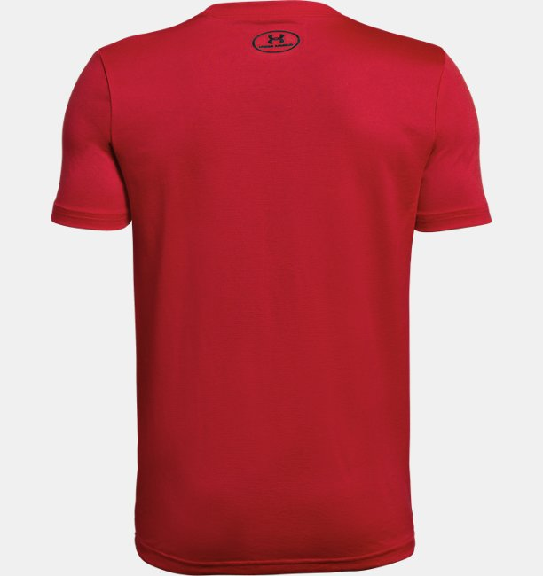 Camiseta Infantil Boys UA Tech™ Big Logo Solid