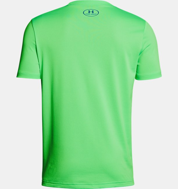 Camiseta de Treino Infantil Masculina Under Armour Tech™ Big Logo Solid