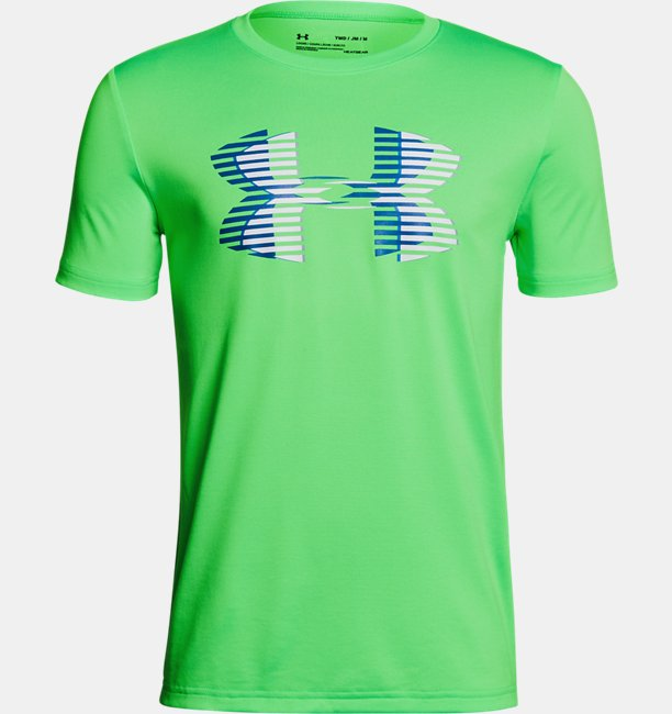 Camiseta Infantil Boys UA Tech™ Big Logo Solid