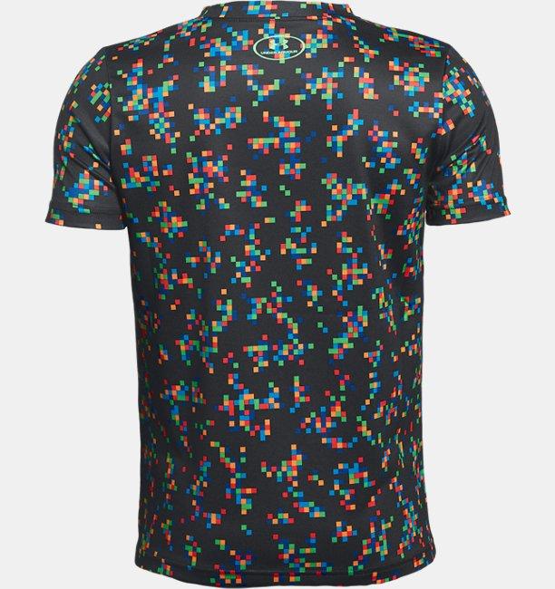 Boys UA Printed Crossfade T-Shirt