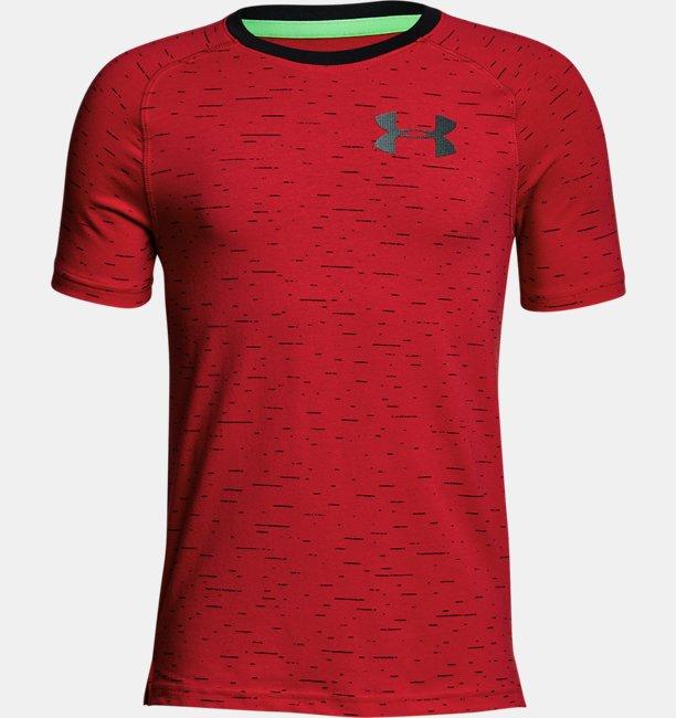 Boys UA Knit Short Sleeve