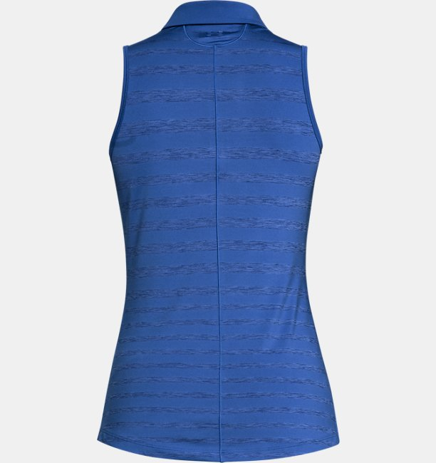 Womens UA Zinger Sleeveless Printed Polo