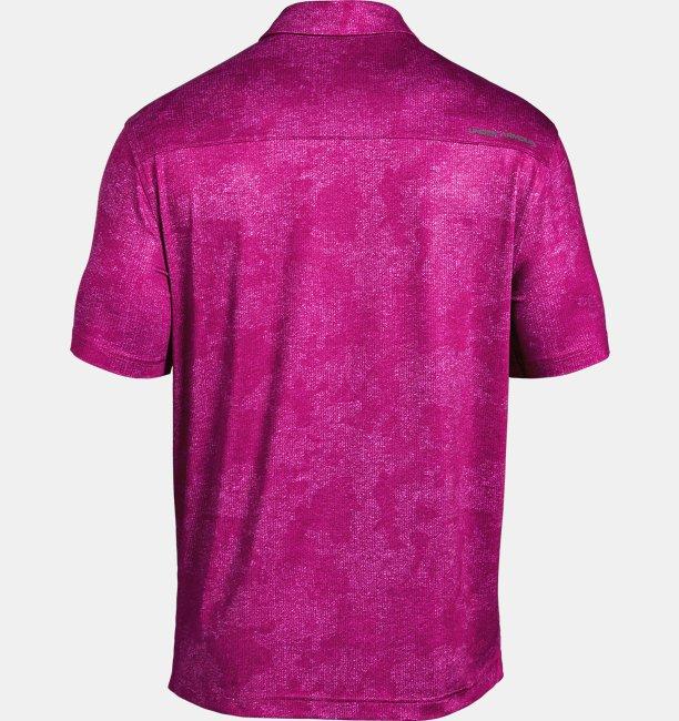 Polera UA Playoff Polo Tweed para Hombre