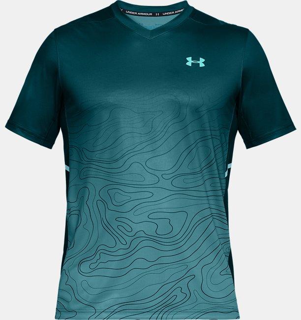 Camisa Gola V UA Forge Patterned Masculina