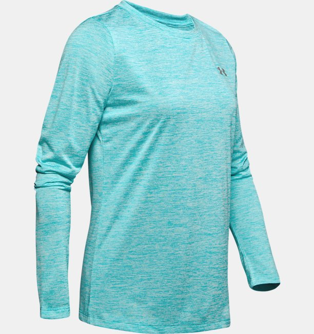 Womens UA Tech™ Twist Crew Long Sleeve