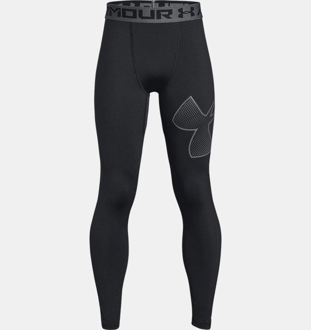Boys HeatGear® Armour Logo Leggings