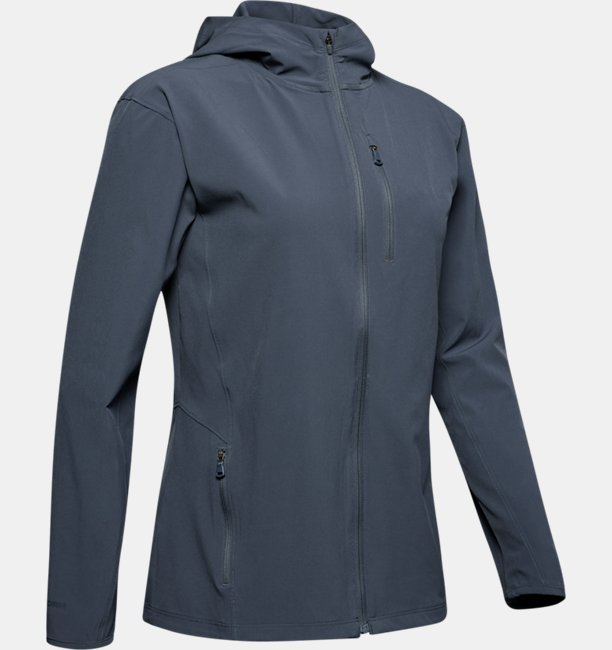 Womens UA Outrun The Storm Jacket