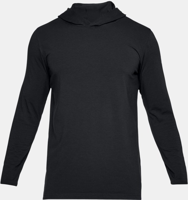 Mens UA Baseline Long Sleeve Hooded Tee