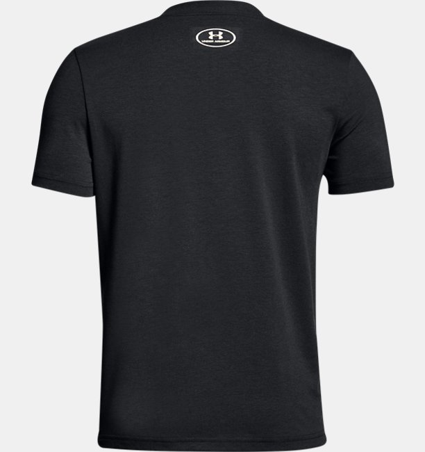 Boys UA Vertical Logo T-Shirt