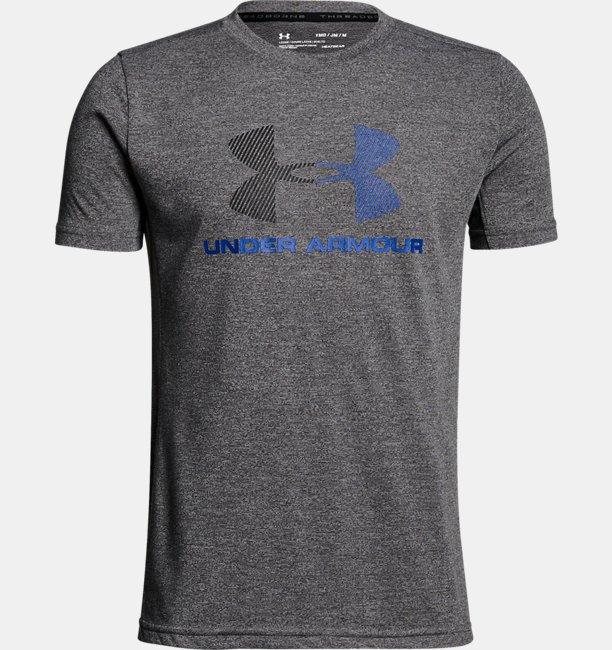 【アウトレット】UAスレッドボーン テックショートスリーブ(トレーニング/Tシャツ/BOYS)