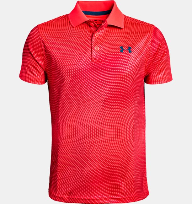 Boys UA Performance Polo Printed