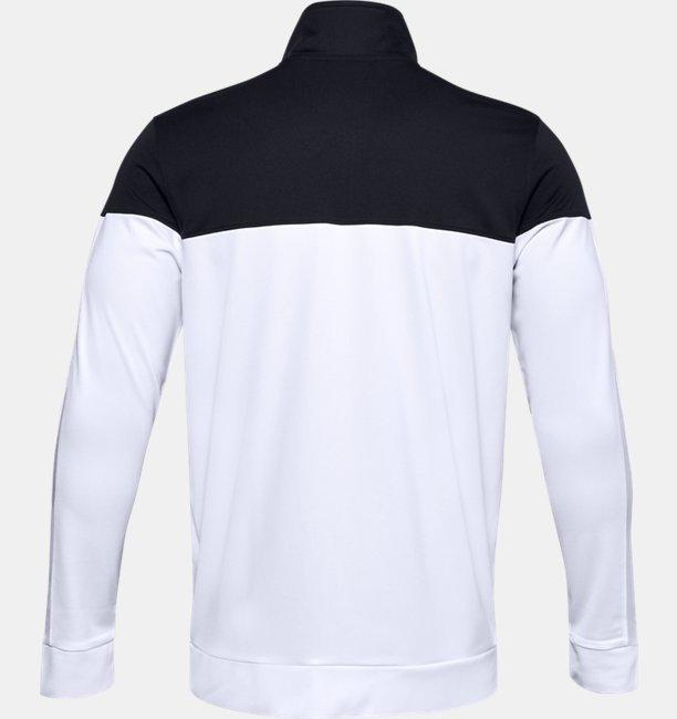 UAスポーツスタイル ピケ トラックジャケット(トレーニング/MEN)