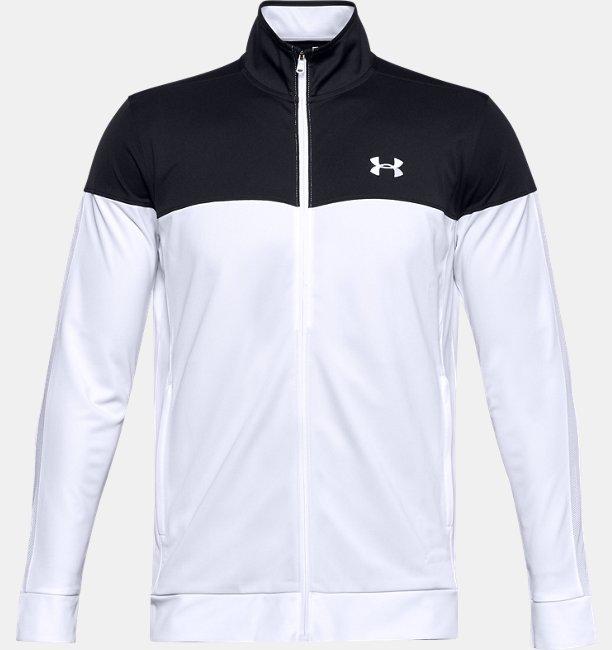 *UAスポーツスタイル ピケ トラックジャケット(トレーニング/MEN)