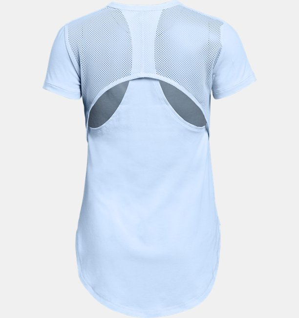 Camiseta manga curta UA Finale infantil feminina