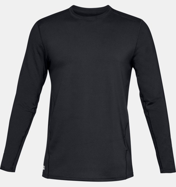 Mens UA Tactical Crew Base Long-Sleeve Shirt