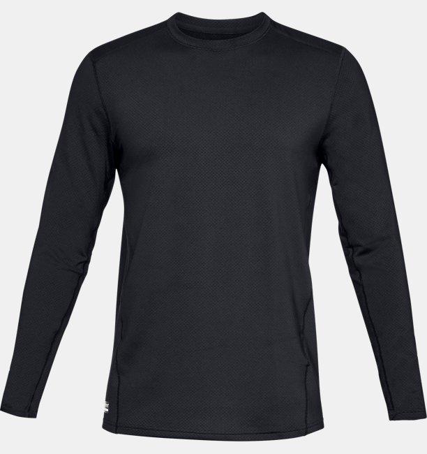 Mens UA Tactical Crew Base Long-Sleeve Shirt