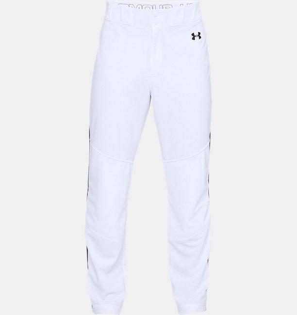 Mens UA Utility Relaxed Piped Baseball Pants