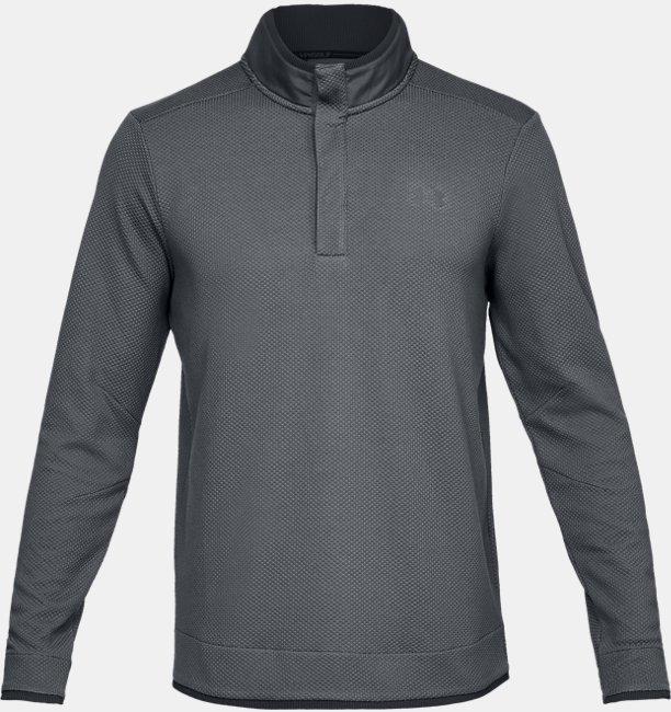 Mens UA Storm SweaterFleece Snap Mock