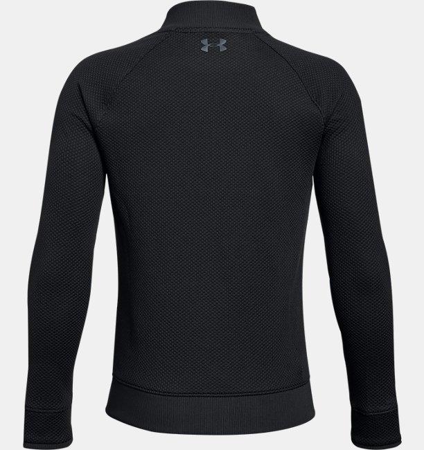 Boys UA Storm SweaterFleece Hybrid Full Zip Jacket