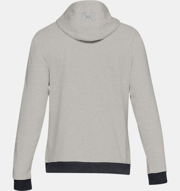 Mens UA Baseline Fleece Full Zip Hoodie