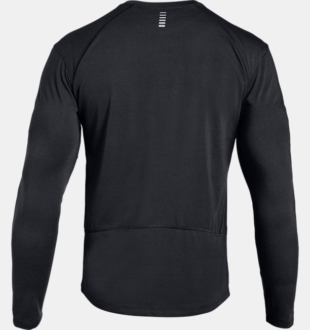 Mens UA Microthread Swyft Graphic Long Sleeve
