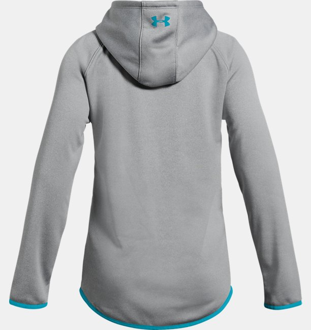 Girls Armour Fleece® Print Logo Hoodie