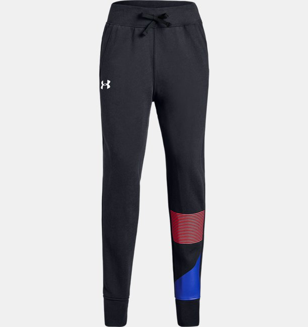 Girls' UA Rival Fleece Joggers
