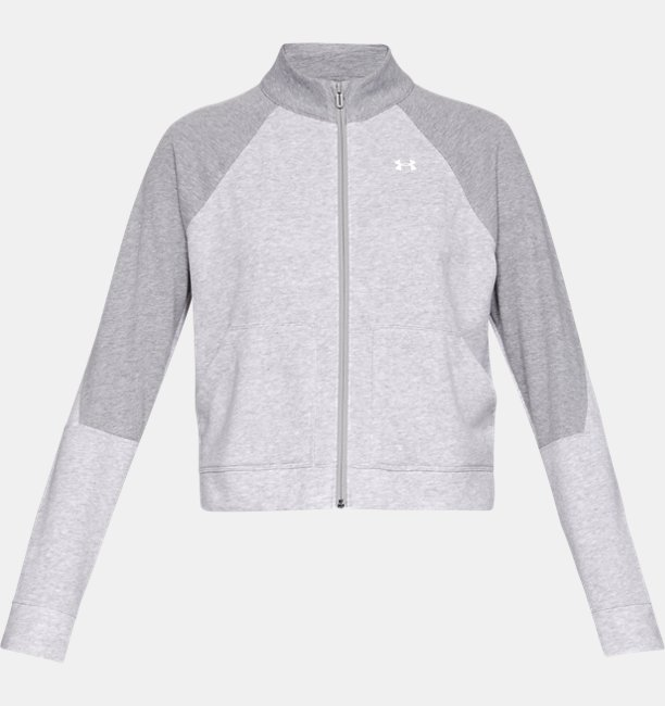 Womens UA Favorite Terry Bomber Jacket