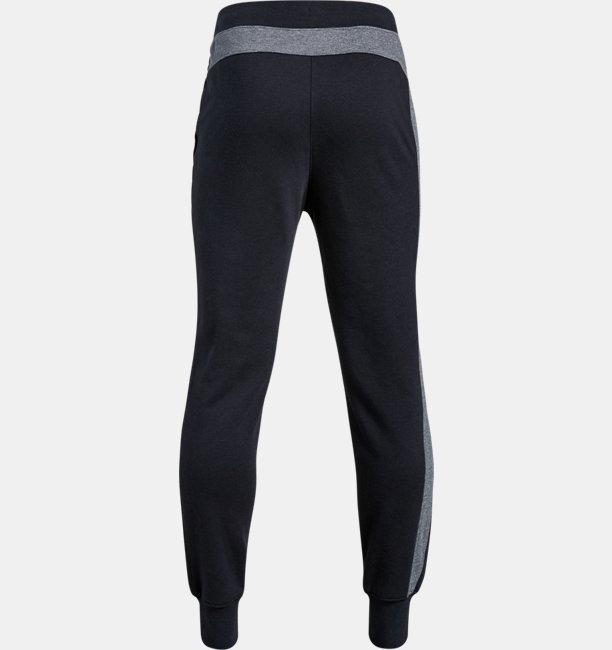 Boys UA Rival Blocked Joggers
