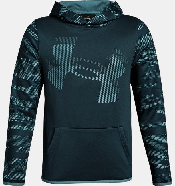 f7d092e30d83ef Jongenshoodie Armour Fleece® Sleeve