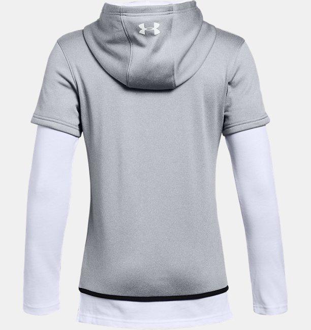 Erkek Çocuk Armour Fleece® 1.5 Twofer Üst