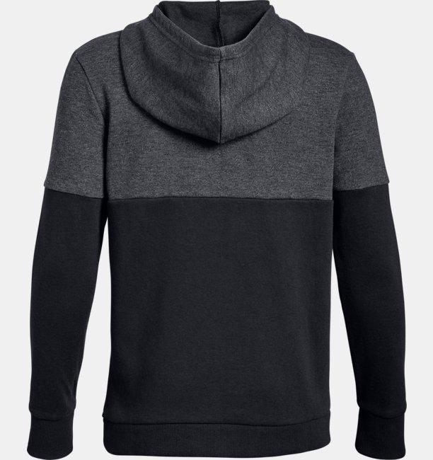Boys UA Double Knit ½ Zip Hoodie